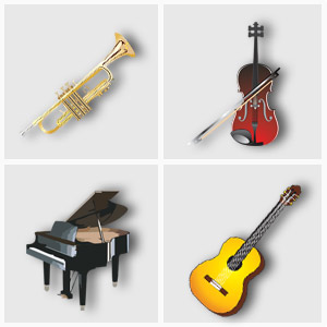 Instrumental including Advanced Piano